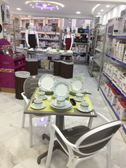 Porcelaines et tables